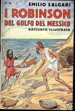 Emilio Salgari I ROBINSON DEL GOLFO DEL MESSICO N.81