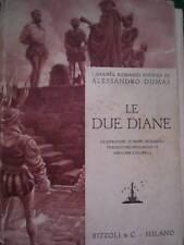 A. DUMAS - LE DUE DIANE 1934