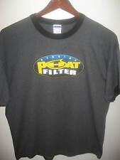 Genuine Phat Filter Mongolian Carbon Odor Removing Gray Ringer Logo T Shirt XLrg