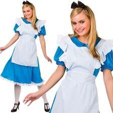 Erwachsene Damen Märchenbuch Alice Buch Woche Kostüm Neu UK 6-28