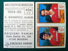 CALCIATORI 1984-85 84-1985 n 434 PERUGIA NOVELLINO GRAZIA Figurine Panini velina