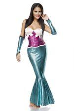 Petite sirène costume sexy femme sensuelle originale turquoise rose uy 14874