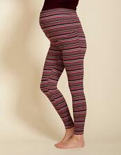 Stripe Maternity leggings - short maternity leggings - XS / L / XL