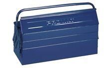 PROMAT Werkzeugkasten Werkzeugkoffer  blau Stahlblech abschließbar