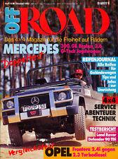 Off Road 10 92 Magirus Mercur 126 DA Defender Mercedes 300 GE Geländewagen 1992