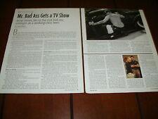 JESSE JAMES - MR BADA$$ GETS A TV SHOW - ***ORIGINAL 2004 ARTICLE*** RARE!!!!