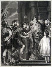van Dyck: Ambrosius und Theodosius St.Ambrose Mailand Duomo di Milano S.Ambrogio