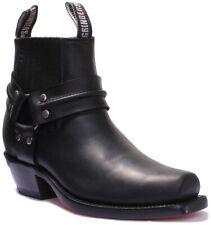 Grinders Harness Lo Unisex Leather Matt Shoes