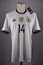Alemania dfb camiseta #14 can talla M/L adidas Home Germany em euro 2016