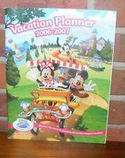 Disney Vacation Club Vacation Planner 2006-2007