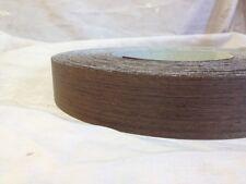 Wenge Iron on Edging Pre Glued Real Wood Veneer Tape 22mm 50mm