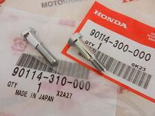 Honda CB 350 Four Paß Bund Schrauben Set Chrom Kupplungshebel Bremshebel Neu