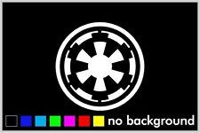 Star Wars Galactic Empire Logo Sticker Vinyl Decal Car Truck Window Wall Decor
