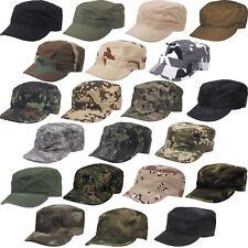 US FELDMÜTZE BDU CAP viele Farben S-XXL Army tarn Mütze Rip Stop Schirmmütze