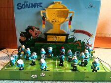 EDEKA Schlümpfe * die offiziellen Fußball-Schlümpfe 2012 * jeder Fußballschlumpf