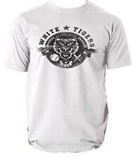 White tigers t shirt baseball sport s-3xl