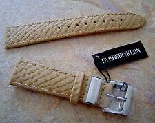 Dyrberg Kern Leder Ersatz Armband für Uhr Divo S / Sand