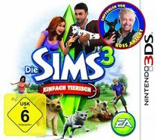 Nintendo 3DS Spiel - Die Sims 3 Spiel - Einfach tierisch (mit OVP)