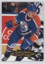 1995-96 Fleer Ultra #55 Todd Marchant Edmonton Oilers Hockey Card