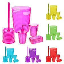 5 pièces Colour MATCH Ensemble d'accessoires de salle de bain porte savon