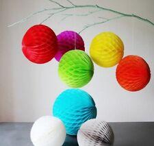 Tissue Paper HoneyComb Ball PomPoms Wedding Christmas Home Decoration Pom Poms