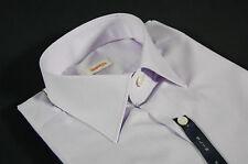 Camicia Aramis Glicine slim fit collo piccolo moda  puro cotone tutte le taglie