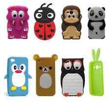 * % Silikon Schutzhülle Cover Tasche ANIMAL TIERE 3D für verschiedene Handys!