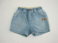 Timberland Baby Elastic Waist Shorts size 1 month 3 months 6 months Colour Denim