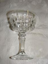 Vintage Crystal Sherbert  Stem Ware Goblet Cris D'Arques/Durand Chantelle