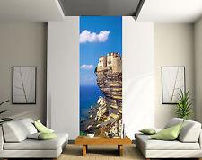 Stickers lé unique décoration murale La Corse Bonifacio réf 2013