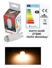 Stiftsockel Energiespar Led G9 230 Volt 2,4 Watt