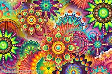 Colorful Abstract ~ Art Patterns ~ Cross Stitch Pattern