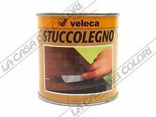 VELECA - STUCCOLEGNO - 250 g - VARI COLORI - STUCCO PER LEGNO