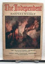 Nov 17 1917 Harper's Weekly The Independent Vintage Magazine WW1 (L7039-ARRI)