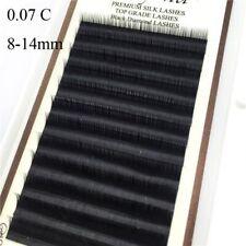 0.07 C Curl Fake Eye Lashes Extension Mink False Eyelashes Individual Eyelash
