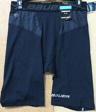 Bauer NG Premium Compression Shorts Black Senior All Sizes