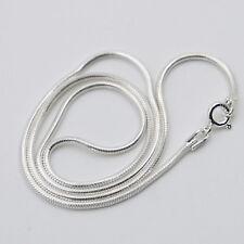 Silberkette 42 cm Schlangenkette Echt Silber 925 Kette Collier Halskette ts