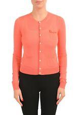 Dsquared2 Women's 100% Wool Peach Light Cardigan Sweater Size S L
