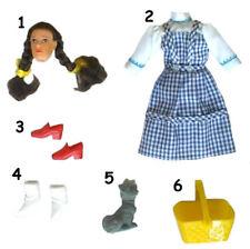 "1974 WIZARD OF OZ 8"" mego doll -- Dorothy Glinda Lion Scarecrow Witch -- CLOTHES"