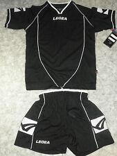 Abverkauf ! Trikot-Set SCUDO Kurzarm  v. LEGEA , Farbe:schwarz , Gr.2XS-S,XL