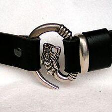 Wolfskopf Gürtel 3 cm Larp Reenactment Kleidung - NEU