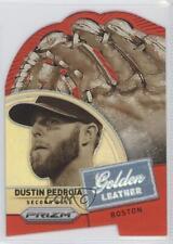 2014 Panini Prizm Golden Leather Die Cut Red Prizms 12 Dustin Pedroia Boston Sox