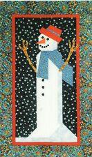 Simply Snowman quilt pattern  Quilt Design Northwest