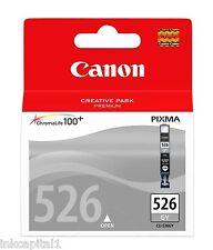 Canon CLI-526GY, CLI526 Grey Original OEM Inkjet Cartridge