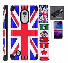 For LG K20 Plus/K20V/K10 2017/Grace/V5 Phone Case Cover+TEMPERED GLASS Kombat#3