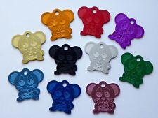 Médaille CHAT gravée souris - 10 couleurs