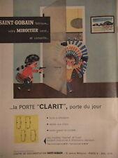 PUBLICITÉ SAINT-GOBAIN PORTE CLARIT FABRIQUE VOTRE MIROITIER  - ADVERTISING