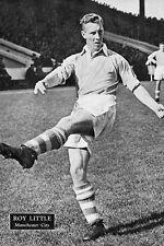 Football Photo>ROY LITTLE Manchester City 1950s
