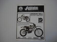 advertising Pubblicità 1977 MOTO ASPES NAVAHO 50 REGOLARITA' COMPETIZIONE