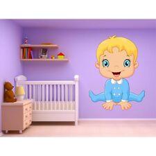 Adesivi murale bambino neonato ref 15224